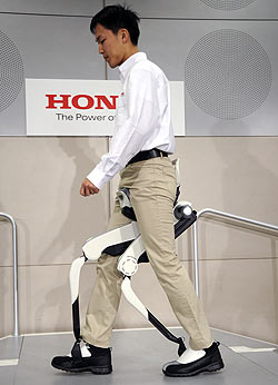 Honda walking apperatus