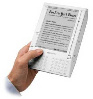 Amazon's Kindle 2 e-book