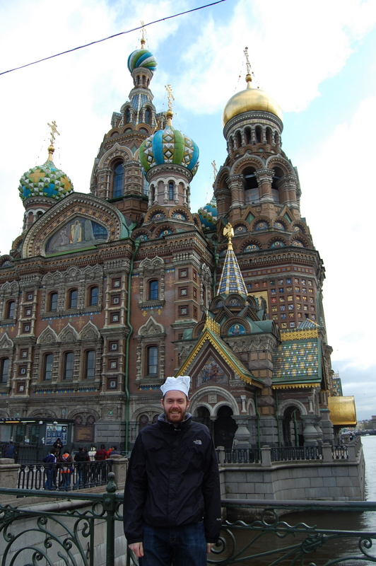 Chef's Hat - Church of the Spilled Blood in St Petersburg