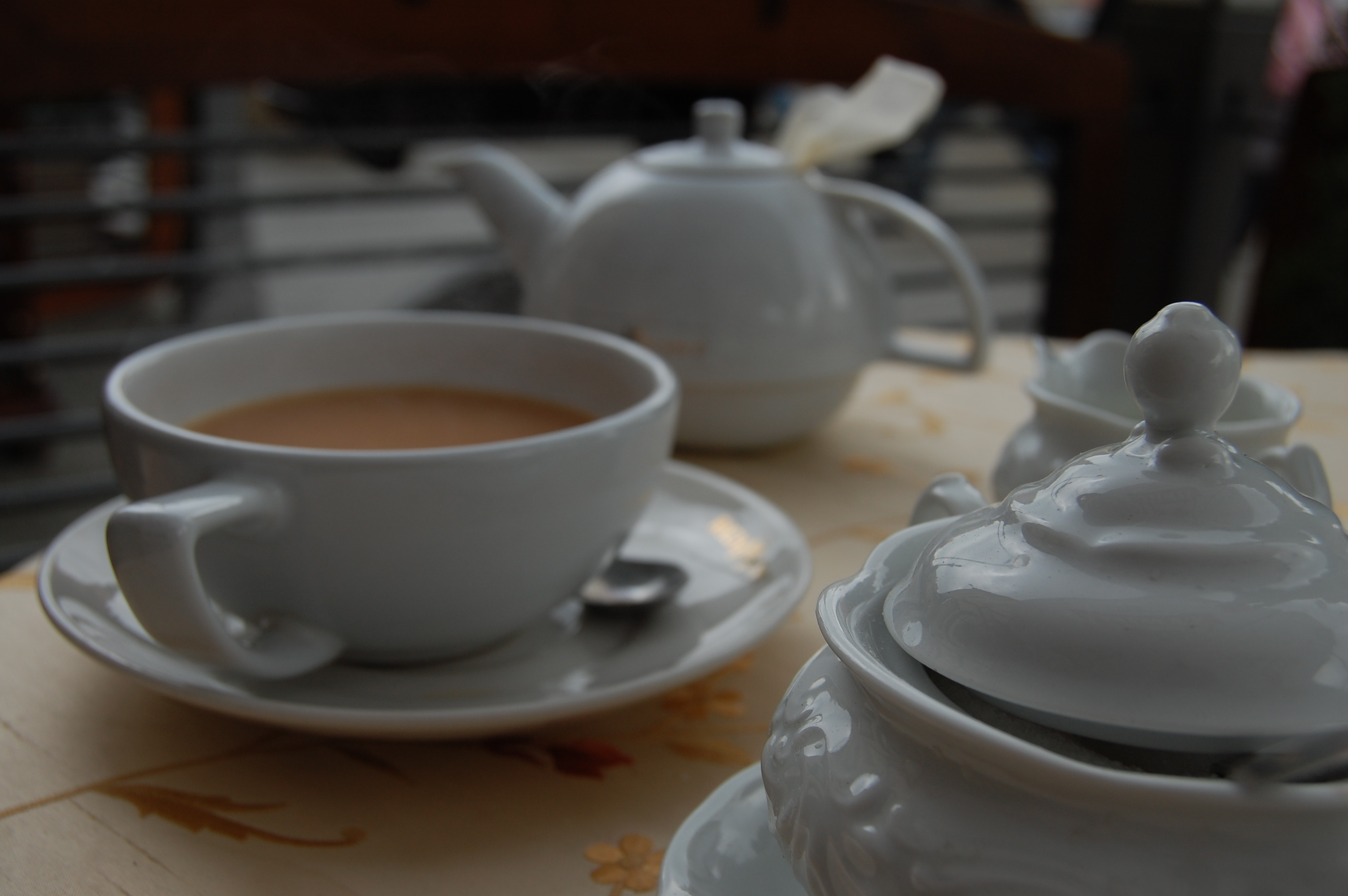 Tea in Warsaw