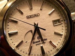 Grand Seiko Snowflake SBGA011 © 2017 Adam Brown