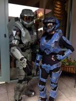 Master Chief from Halo is here to finish the fight.