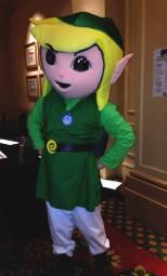 Toon Link from The Legend of Zelda.