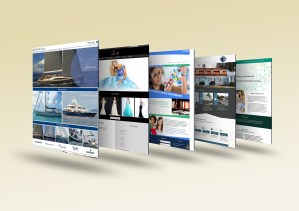 Graphic Design, web site mockups