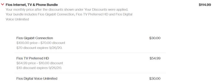 Cheap Verizon Bundle Package