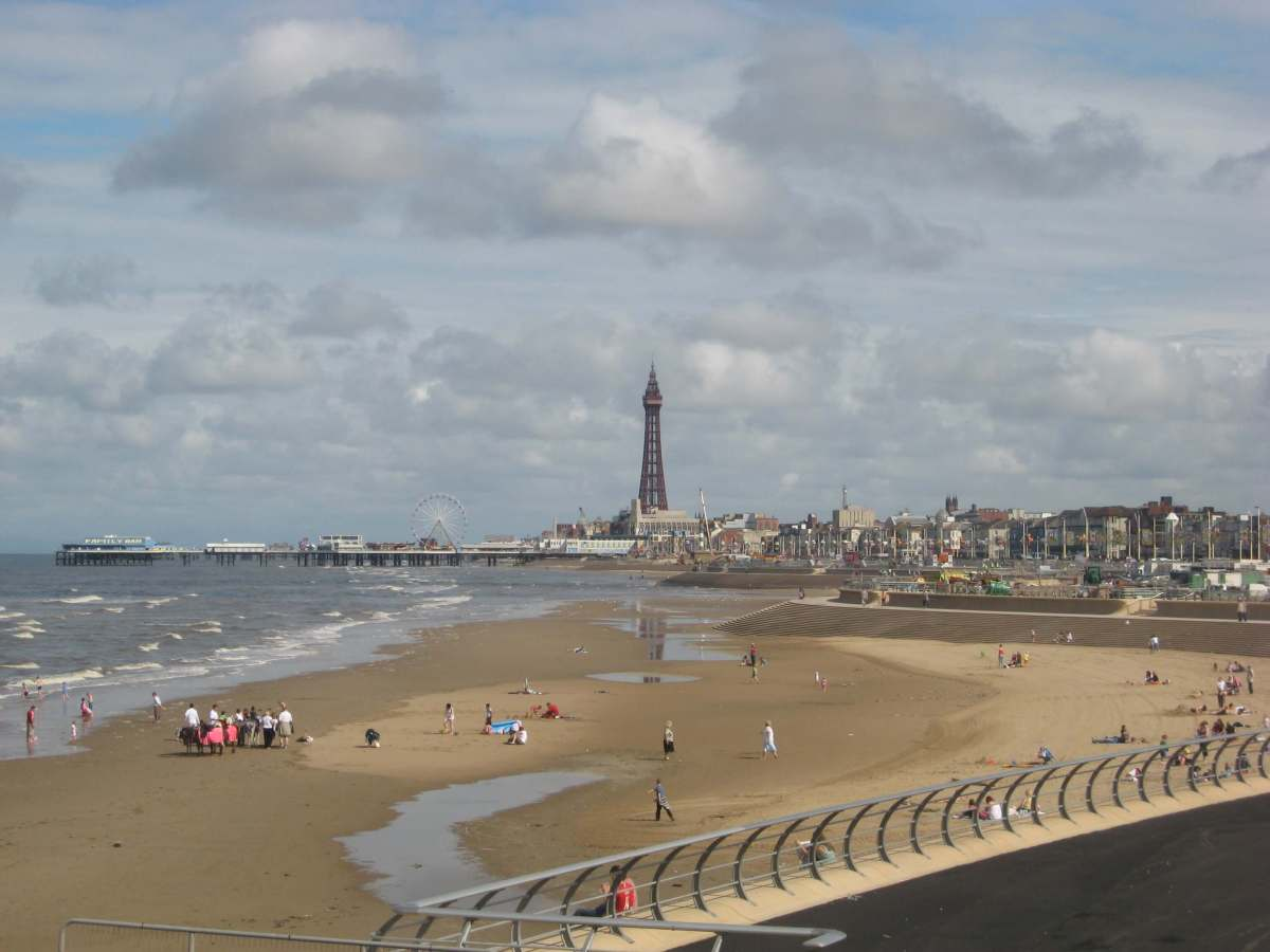 A Postcard to Blackpool