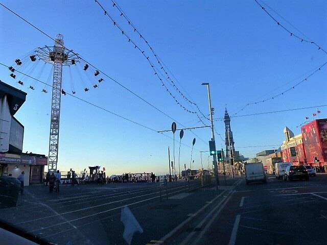 A Postcard To Blackpool : The Arrival