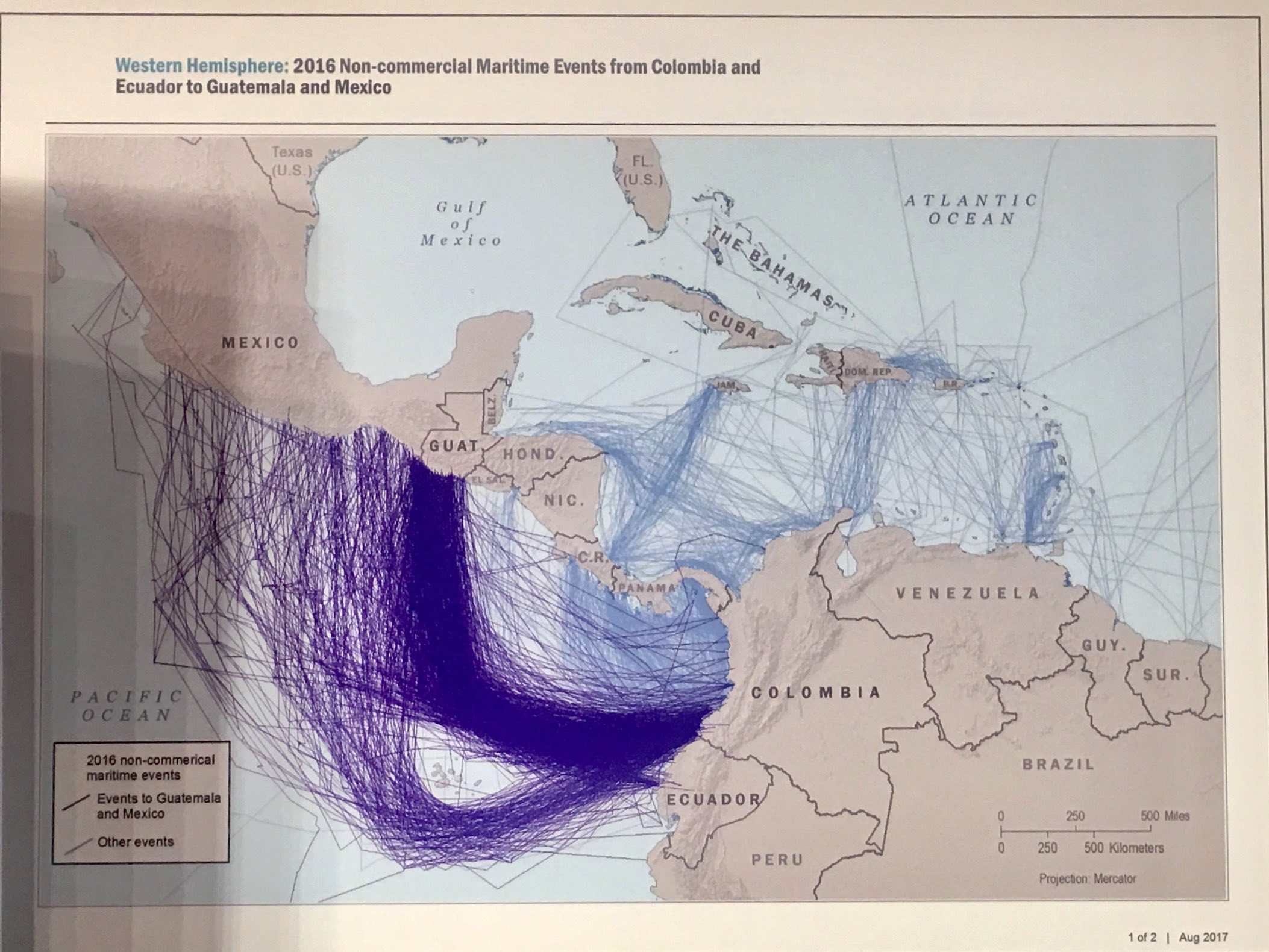 Suspect Trafficking Maps Adam Isacson - Us government maps