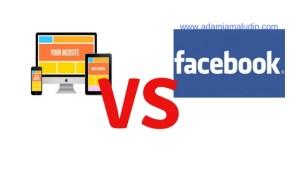 laman web vs fesbuk