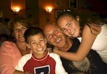 Adam Jackson & his family