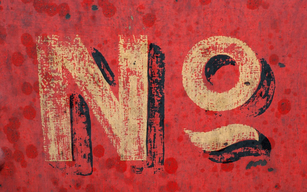 To be a good leader, start by saying no