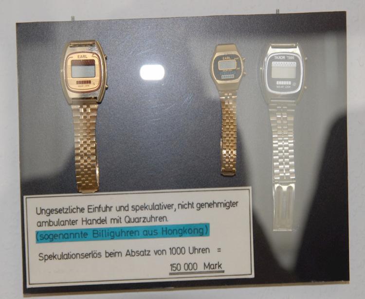 Uhrmacher Gewissenhaft Ruhla Eurochron Armbanduhren Zifferblatt