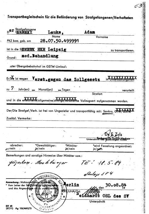 Anstifter zur Folter und Gewaltanwendung OSL Neidhardt ist iddentiffiziert