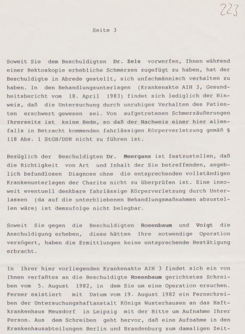 ZitiertGesundheitsbericht vom IM NAGEL vom 18.4.1983
