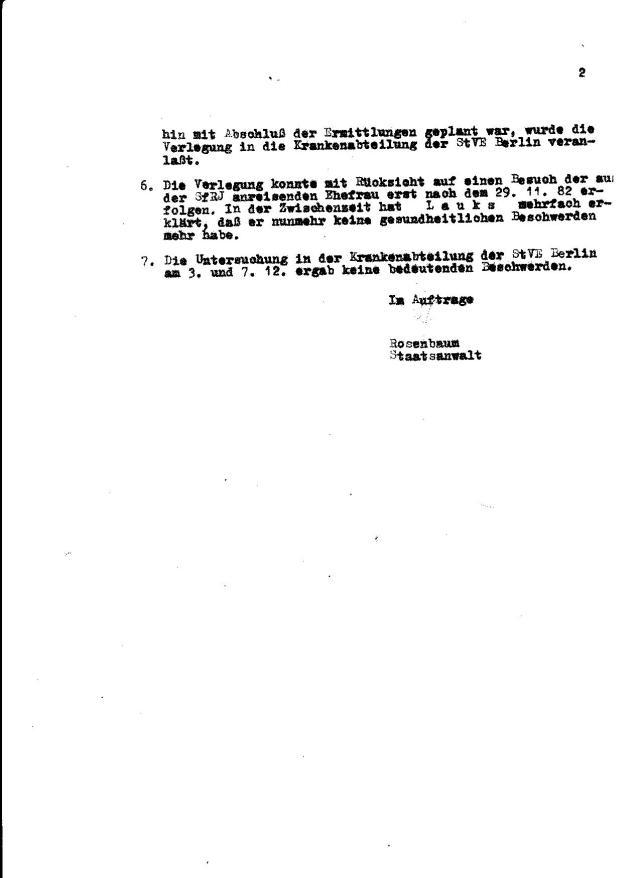 Zersetzung von Adam Lauks 1982.12.07.1