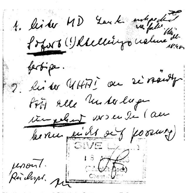 Zersetzung von Adam Lauks 1983.04.18.