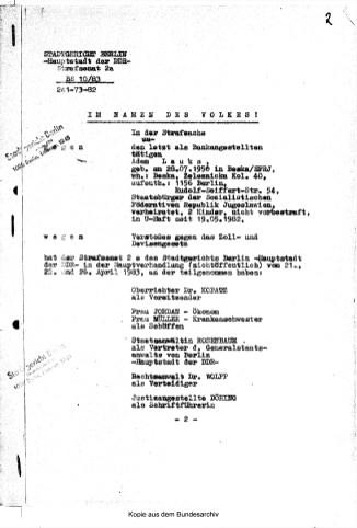 Zersetzung von Adam Lauks 1983.04.26.1