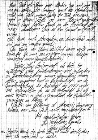 Zersetzung von Adam Lauks 1983.05.16.7