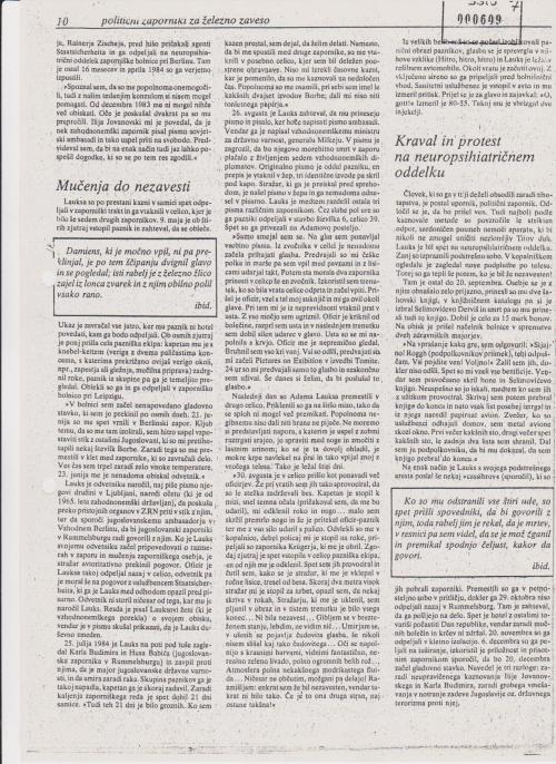 Folter bis zur Ohnmacht und zurück 1.-21.März 1984 Berlin Rummelsburg Schlichtzelle 068