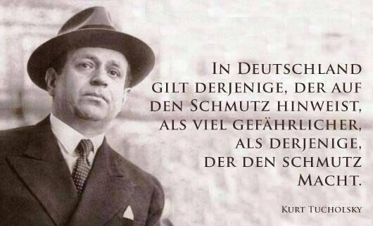 Frei nach Kurt Tucholsky: