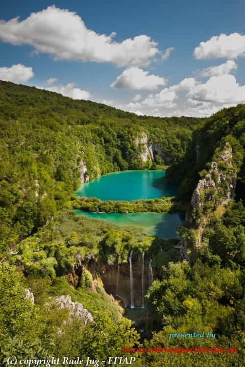 ... und im zauberhaften Canyon fließt KORANA weuter...über vier schönsten Wasserfälle
