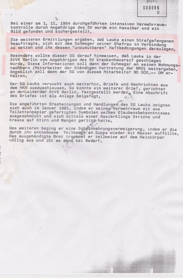 DDR Regime konnte-dutfte keione Feinde haben! Wenn doch dann waren sie paranoidquerulatorisch ..