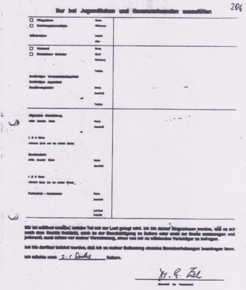 Vernehmung des Dr. Zels -IM NAGEL 2.7.1997 durch ZERV 214 002