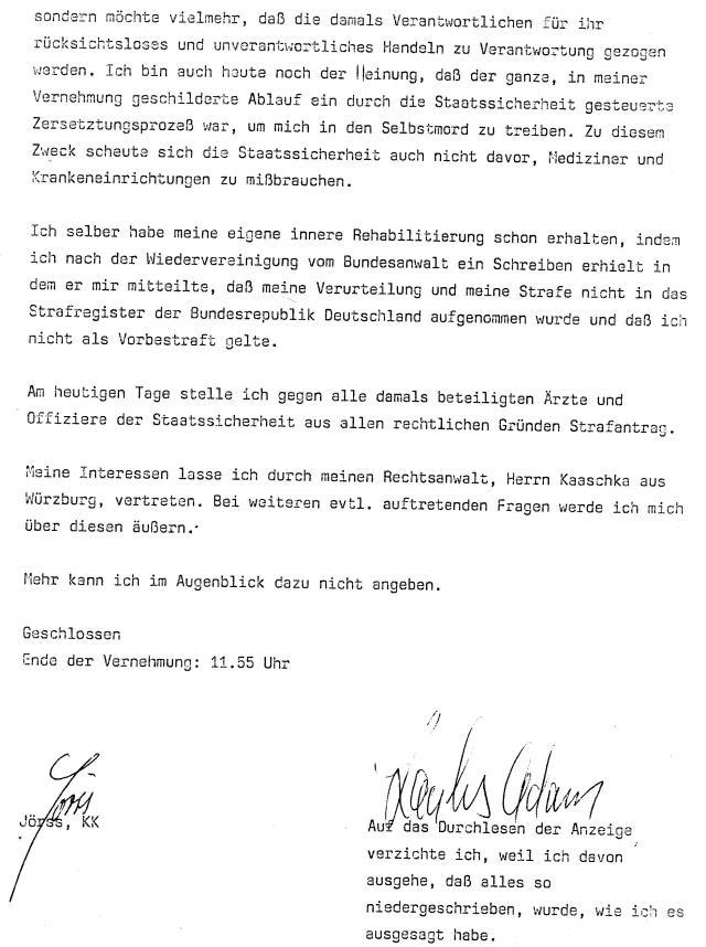 30 Js 1792 93 Ermittlungsverfahren der Staatsanwaltschaft II Bln 021