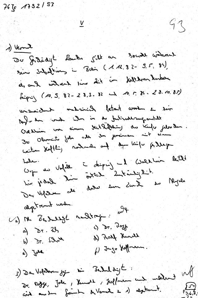 30 Js 1792 93 Ermittlungsverfahren der Staatsanwaltschaft II Bln 045