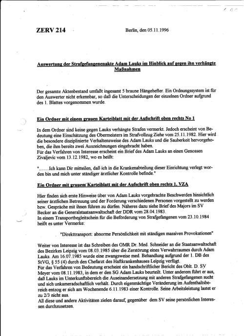 Erst am 5.11.1996 gibt es diese Auswertung von Schaioka.