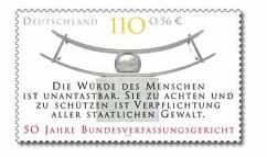 Die Würde des Mensvchen ... in Deutschland kostet gerade 110 Pfennig - 0,56 € !!?