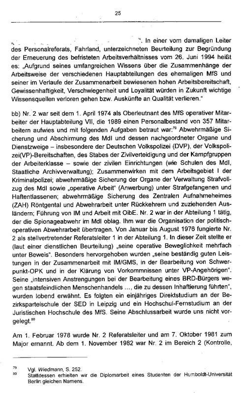 Gutachten Mai 2007