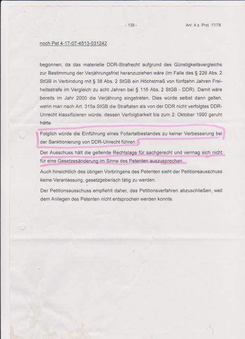 Kersten Steinke - Implementierung § Folter abgelehnt 003