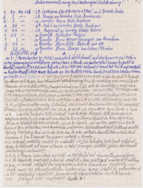 Nach der Rückkehr aus dem Haftkrankenhaus Leipzig - Meusdorf schrieb ich an Honecker