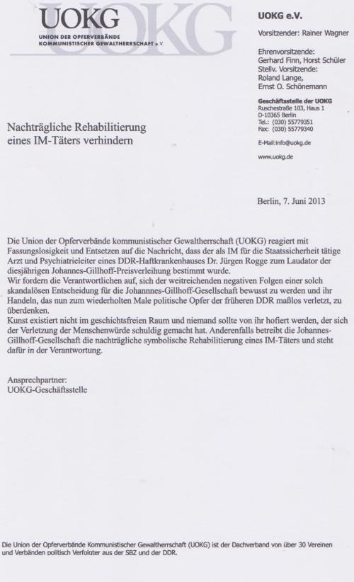 UOKG- Wagner Furz
