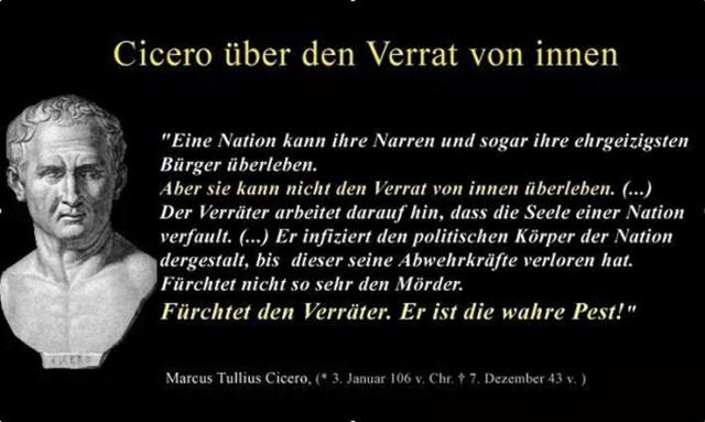 Die WAHRHEIT der Wende ist DIE WAHRHEIT über VERRAT VON INNEN an der Deutschen Nation