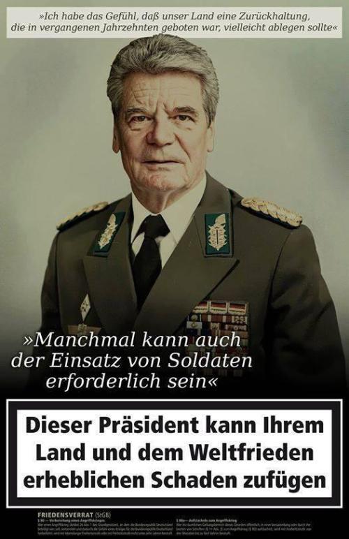 Ich liebe meinen Präsidenten !!! Er muss doch das Recht auf das Vergessen haben !?