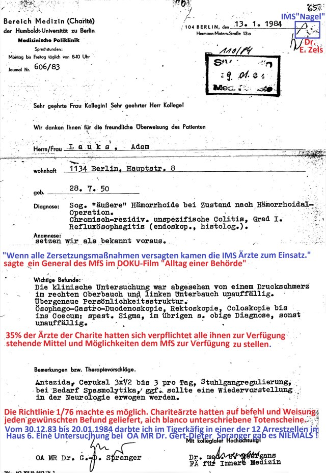 Zersetzung von Adam Lauks 1984.01.13.1