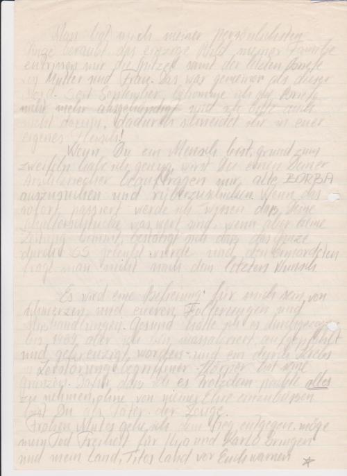 Leiter des Hauses Oberst Schmidt Bock hatte  im OV MERKUR  nichts zu bemelden. Die Akteure sollten  durch die lange  unverhältnismäßige Strafen zermürbt werden, wenn einer in den Selbstmord geht um so besser. Es war ein Abschiedsschreinben an Rummelsburger Zuchthaus dass ich  am 27.12.1984  in  für mich unbekannter Richtung verlassen werde. Aber erst musste das Haus 8 und die Absonderung in Krallen des MfS zerschossen werden, gesprengt werden.