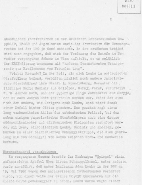 Freilassung von Ilija und Karlo Transparent vor Wiener Hofburg