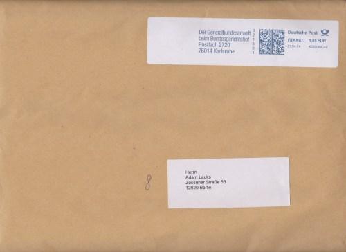 Die Strafanzeige gegen BStU   § 272 Urkundenunterdrückung war drin