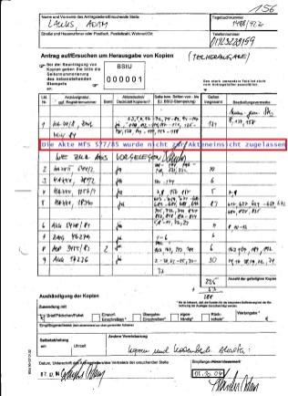 Die Position 2 steht nicht mehr zur Verfügung - um daraus Kopien zu beantragen !? Dadurch ist die Urkundenunterdrückung perfect und bewiesen.