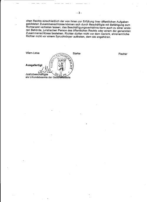 MISSVERSTÄNDNISS!?? Es sollte doch lediglich festgestellt was dieses Dokument  bedeutet. Die Deutung der Folgen der nichtausweisung waren gar nicht  Gegenstand meines begehrens!??