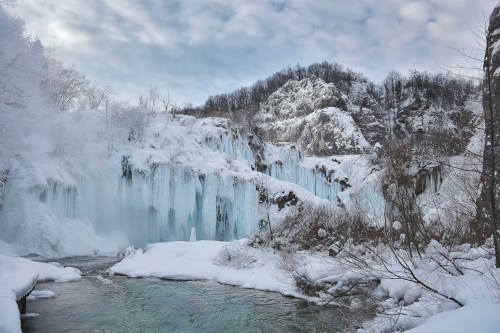 It´s cold, cold Winter down by the SASTAVCI...