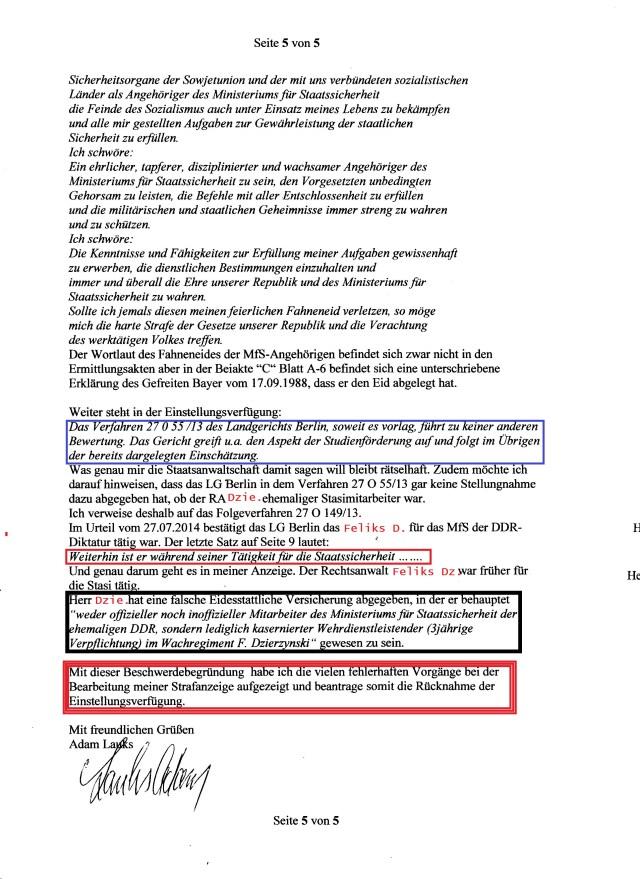 Im Urteil vom 27.07.2014 bestätigt das LG Berlin das RA