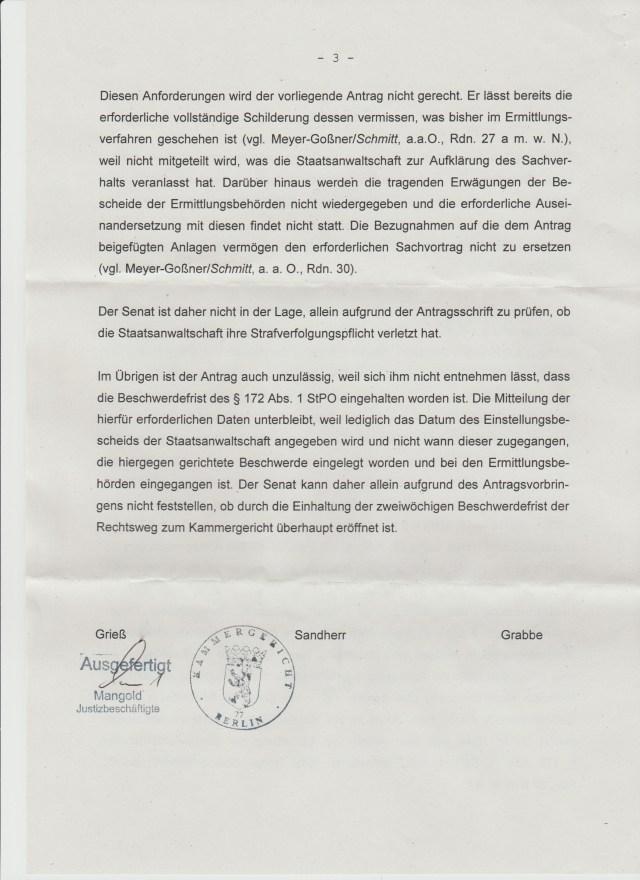 Ich suchte Recht und Gerechtigkeit und bekam den Machtstaat ! Danke Deutschland, Fluch eines ungesühnten Folteropfer der STASI ist Dir fortan sicher !