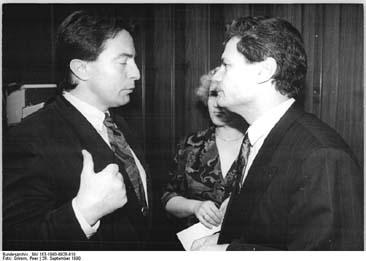 Berlin, 37. Volkskammertagung, Diestel, Gauck