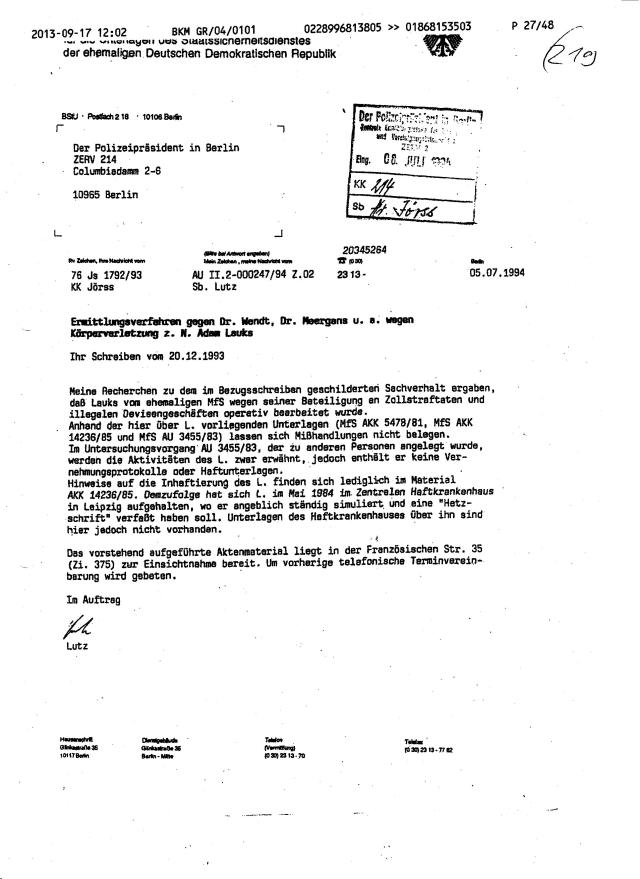 Fax des BKM an die BStU-Teile 005