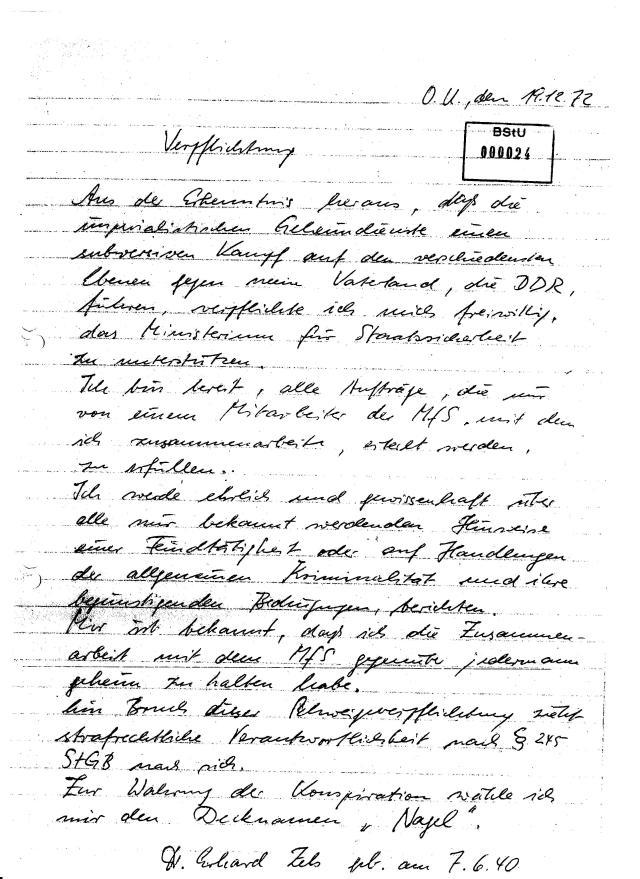 OMR OSL im SV Dr. Erhard Zels - IMS `Nagel` 001