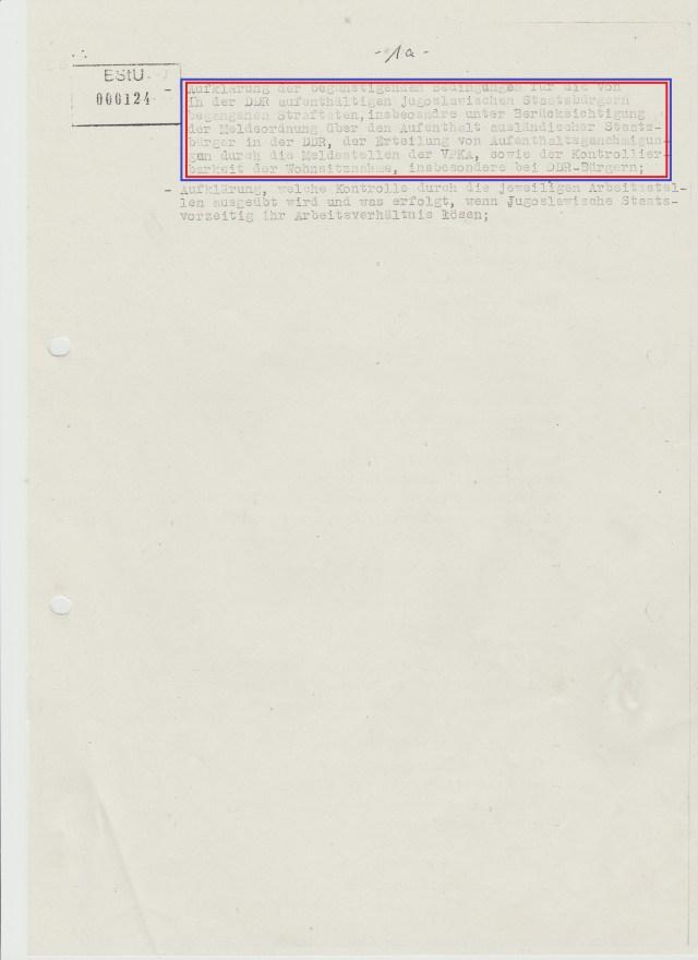 Der Untersuchungsplan wie er auf der Seite 000123 und 000124 dem Vorscher vorliegt ist auch ein manipulierter und irgendwo entliehen weil auf der Seite 1a( 00124) bricht er nach dem 2.Absatz ab... um mit dem Zuwachs an Erkenntnissen ausgeweitet zu werden..!?